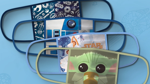 Now Ready for Pre-Order, the Inevitable Disney Face Masks Are Here