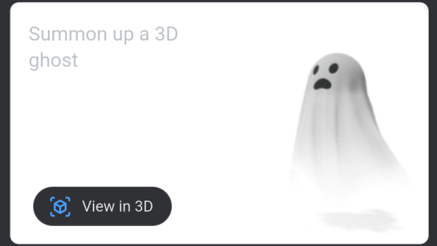 How to Summon AR Ghosts With a Google Search