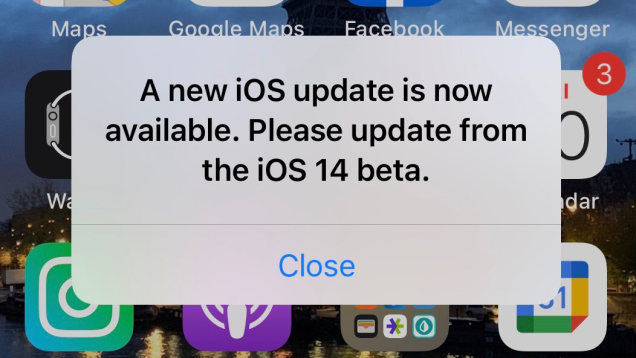 Why is My iPhone Harassing Me About a Missing Update?