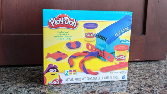 TIL you can use a Play-Doh Fun Factory as a cookie press