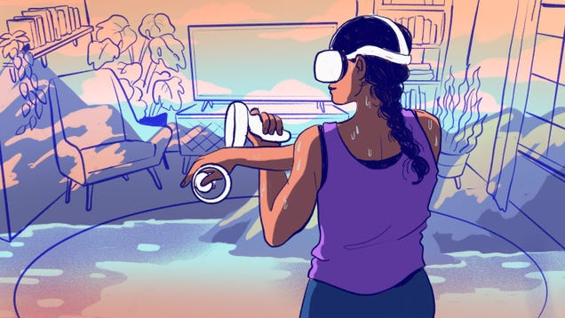 Can You Get a Good Workout With Virtual Reality?